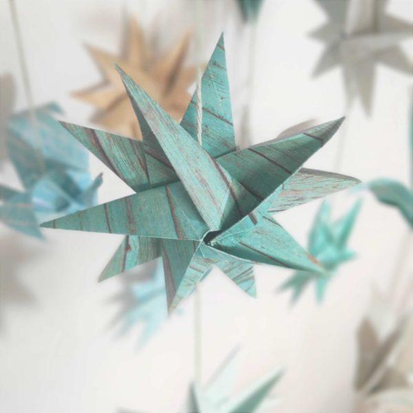 grue origami, étoile origami