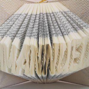 prenom en livre plie sculpture et pliage de pages de livre idealisa