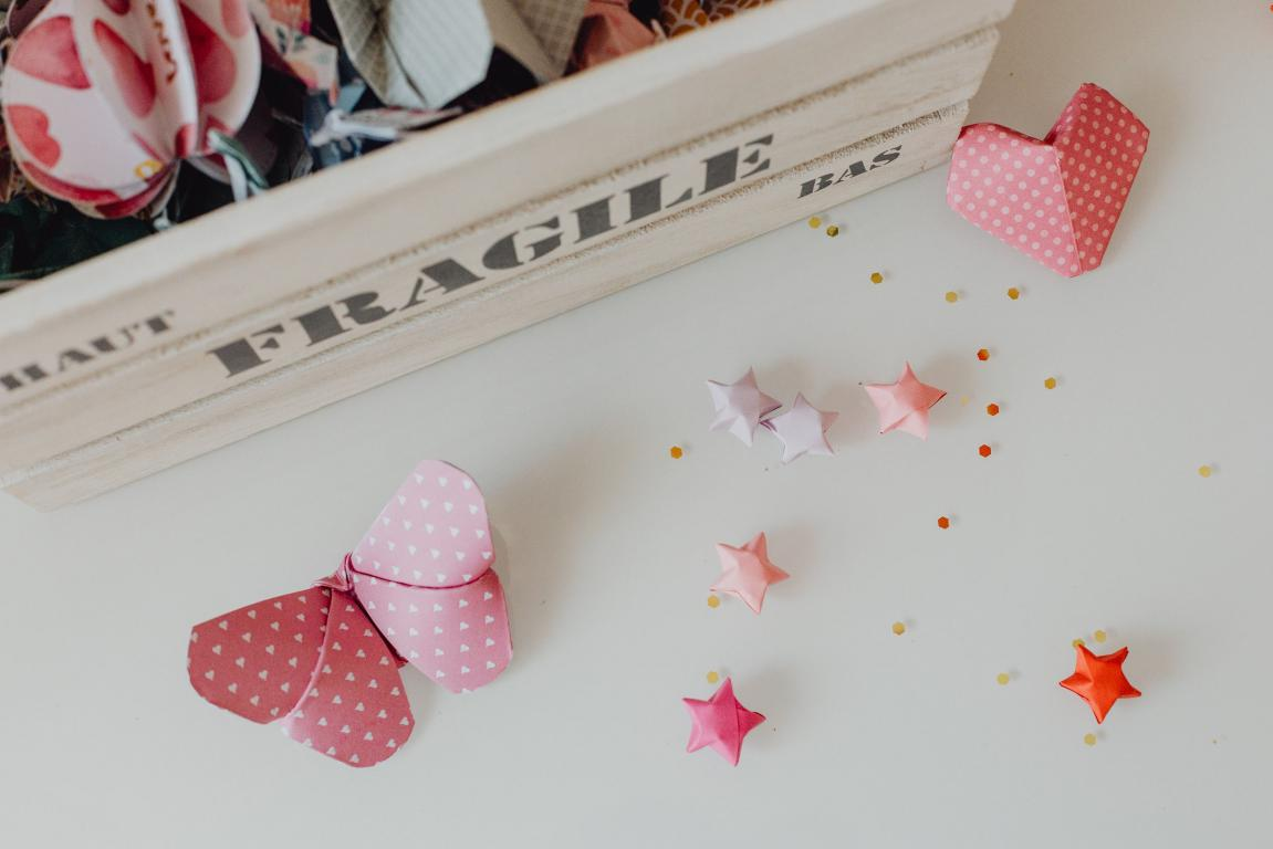 Animation origami pour anniversaire
