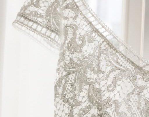 dentelle de robe de mariee