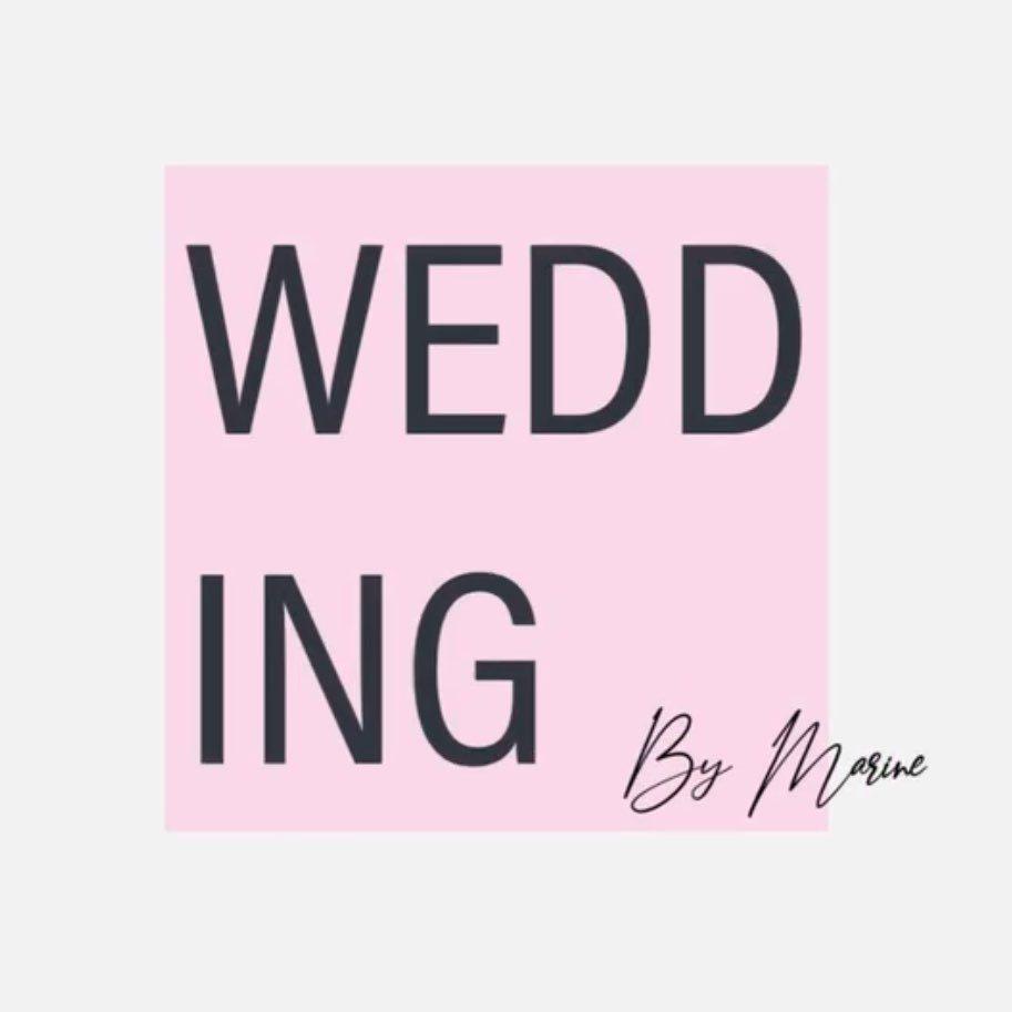 logo wedding by marine